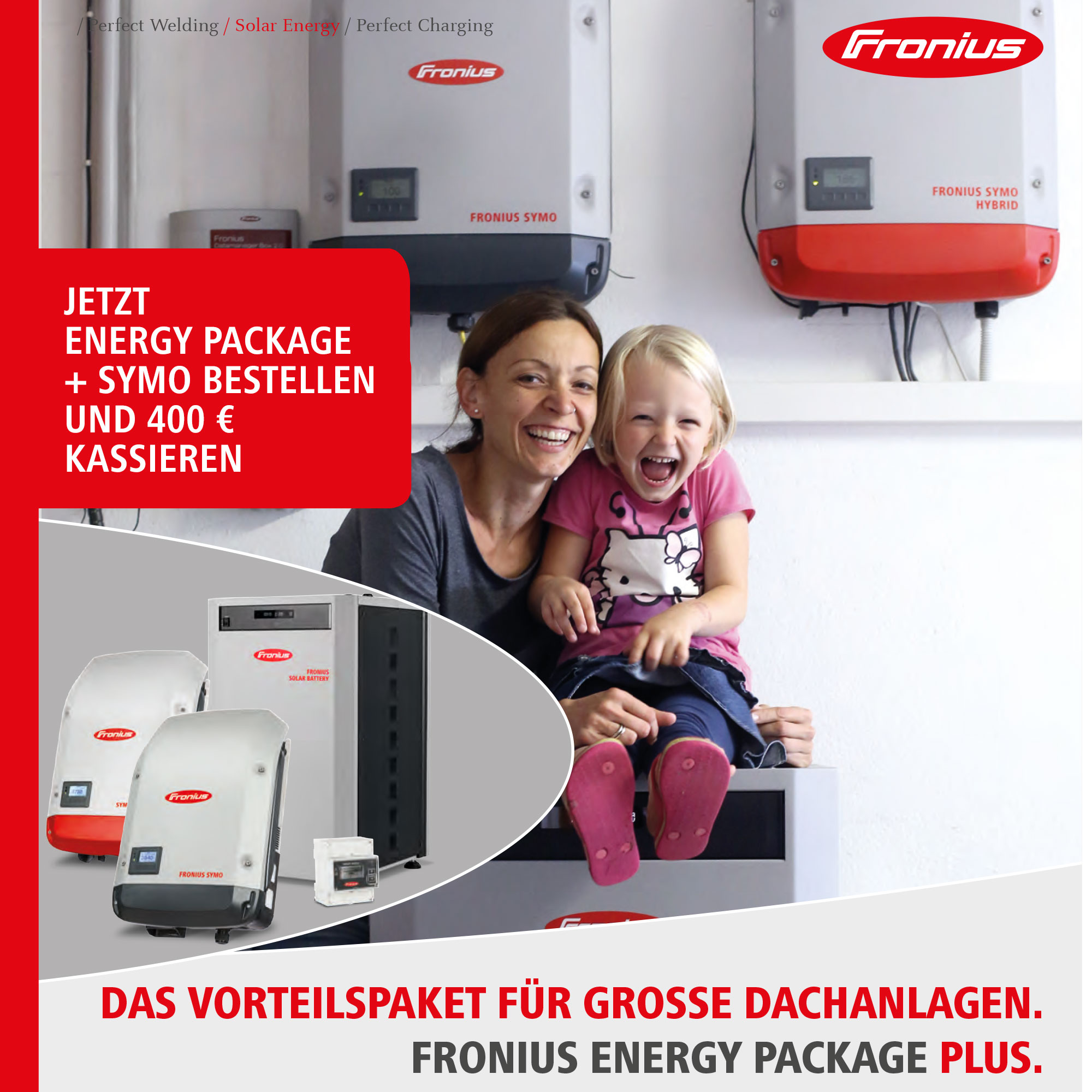 Fronius Energy Package Plus 400€ Aktion