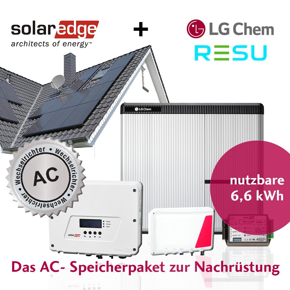 LG  SolarEdge StoreEdge Paket AC 6,6 kWh